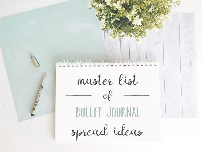 bullet-journal-spread-ideas